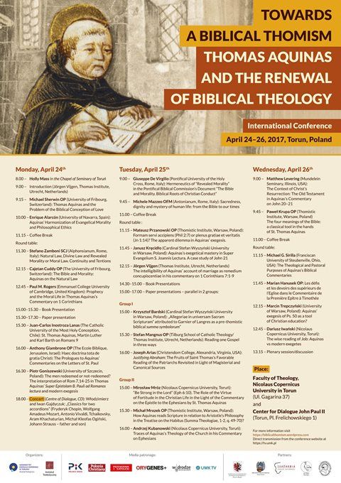 Towards a Biblical Thomism